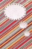 ύφασμα Jean φυσαλίδων στοκ φωτογραφίες