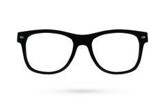 Ύφος γυαλιών μόδας πλαστικός-που πλαισιώνεται που απομονώνεται στο άσπρο backgroun Στοκ φωτογραφία με δικαίωμα ελεύθερης χρήσης