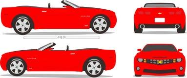 Ύφος διάστασης αυτοκινήτων Στοκ εικόνα με δικαίωμα ελεύθερης χρήσης