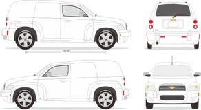 Ύφος διάστασης αυτοκινήτων Στοκ φωτογραφία με δικαίωμα ελεύθερης χρήσης