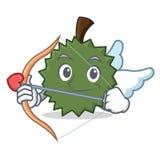 Ύφος κινούμενων σχεδίων χαρακτήρα Durian Cupid Στοκ φωτογραφία με δικαίωμα ελεύθερης χρήσης