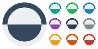 Ύφος κουμπιών επίπεδο Στοκ φωτογραφία με δικαίωμα ελεύθερης χρήσης