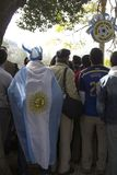 Ύφος Μπουένος Άιρες Αργεντινή Λατινική Αμερική Νότια Αμερική ανεμιστήρων ποδοσφαίρου συμπαθητική Στοκ φωτογραφία με δικαίωμα ελεύθερης χρήσης