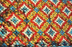 Ύφος προτύπων μωσαϊκών χρώματος γυαλιού Στοκ Εικόνα