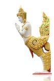 ύφος Ταϊλανδός αγαλμάτων kinaree γωνίας Στοκ Φωτογραφίες