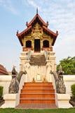 ύφος Ταϊλανδός lanna τέχνης Στοκ εικόνες με δικαίωμα ελεύθερης χρήσης