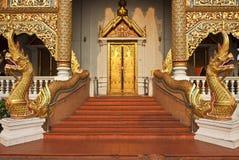 ύφος Ταϊλανδός lanna τέχνης Στοκ Φωτογραφία