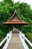 ύφος Ταϊλανδός οικοδόμησ&e Στοκ Εικόνα
