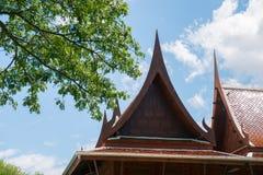 ύφος Ταϊλανδός σπιτιών Στοκ Φωτογραφία