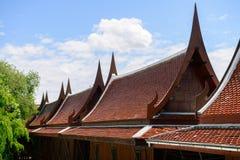 ύφος Ταϊλανδός σπιτιών Στοκ Εικόνες
