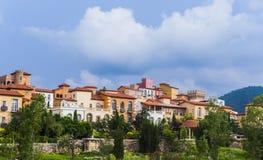 ύφος της Ιταλίας σπιτιών στοκ εικόνα