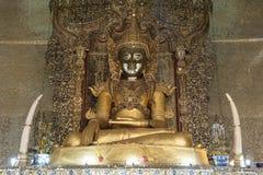 Ύφος του Μιανμάρ Βούδας Στοκ φωτογραφία με δικαίωμα ελεύθερης χρήσης