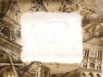 ύφος του Παρισιού μνημείω&n Στοκ φωτογραφία με δικαίωμα ελεύθερης χρήσης