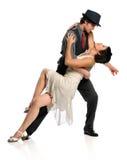 ύφος χορού ζευγών αιθου& Στοκ φωτογραφία με δικαίωμα ελεύθερης χρήσης