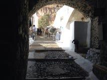 Ύφος Santorini Στοκ Εικόνα