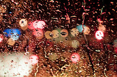 ύδωρ γυαλιού απελευθέρ&o Στοκ Εικόνες
