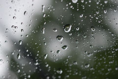 ύδωρ γυαλιού σταγονίδιω& Στοκ Εικόνα