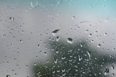ύδωρ γυαλιού σταγονίδιω& Στοκ Φωτογραφία