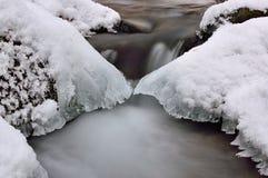 Ύδωρ και πάγος στοκ φωτογραφίες
