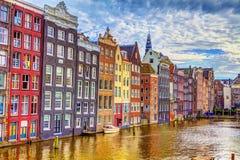 ύδωρ κτηρίων του Άμστερντα&mu Στοκ Εικόνα