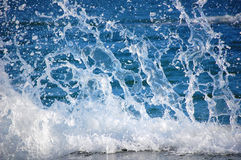 ύδωρ παφλασμών κινήσεων Στοκ Φωτογραφίες