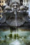 ύδωρ πηγών pantheon Στοκ Φωτογραφίες