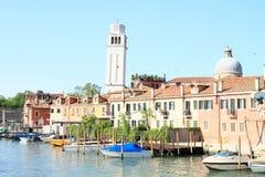 ύδωρ της Βενετίας καναλιώ Στοκ Εικόνες
