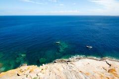 ύδωρ της Κορσικής Γαλλία Στοκ φωτογραφίες με δικαίωμα ελεύθερης χρήσης