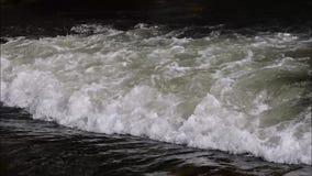 ύδωρ της Ταϊλάνδης φύσης ροής απόθεμα βίντεο