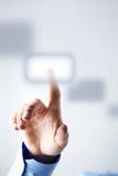 ώθηση κουμπιών Στοκ εικόνα με δικαίωμα ελεύθερης χρήσης