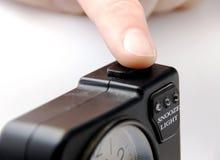 ώθηση κουμπιών snooze Στοκ εικόνα με δικαίωμα ελεύθερης χρήσης