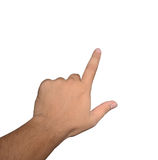 ώθηση χεριών Στοκ φωτογραφία με δικαίωμα ελεύθερης χρήσης
