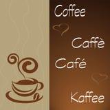ώρα καφέ διανυσματική απεικόνιση