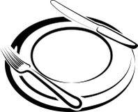 ώρα μεσημεριανού γεύματο&si Στοκ Εικόνες