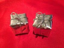 δώρα Χριστουγέννων μικρά Στοκ Φωτογραφίες