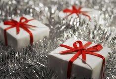δώρα Χριστουγέννων Στοκ Φωτογραφίες