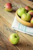 Ώριμα εύγευστα μήλα Στοκ Εικόνα
