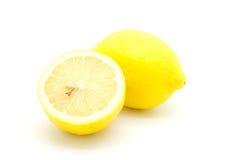 Ώριμα κίτρινα λεμόνια Στοκ Φωτογραφία