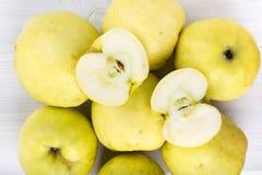 Ώριμα μήλα Antonovka στοκ εικόνα