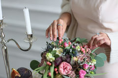 Ώριμα σύκα στον πίνακα γαμήλιων μπουφέδων Στοκ Εικόνες