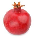 Ώριμα φρούτα ροδιών που απομονώνονται στο άσπρο υπόβαθρο Στοκ Φωτογραφίες
