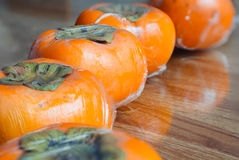 Ώριμα persimmons της Ιαπωνίας Στοκ Εικόνες