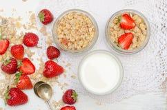 Ώριμες και νόστιμες φράουλες Στοκ εικόνα με δικαίωμα ελεύθερης χρήσης