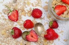 Ώριμες και νόστιμες φράουλες Στοκ Φωτογραφίες