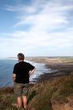 ώριμη έξω θάλασσα ατόμων Στοκ Φωτογραφία