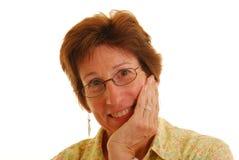 ώριμη γυναίκα πορτρέτου Στοκ εικόνα με δικαίωμα ελεύθερης χρήσης