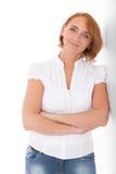 ώριμη γυναίκα Στοκ εικόνες με δικαίωμα ελεύθερης χρήσης