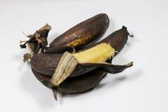 Ώριμη καφετιά μπανάνα Στοκ φωτογραφία με δικαίωμα ελεύθερης χρήσης
