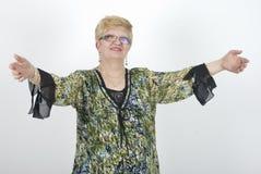 Ώριμη υποδοχή γυναικών Στοκ φωτογραφία με δικαίωμα ελεύθερης χρήσης