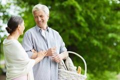 Ώριμοι σύζυγοι Στοκ εικόνα με δικαίωμα ελεύθερης χρήσης
